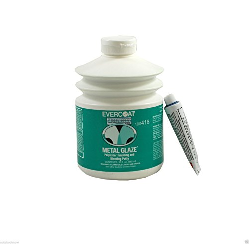 Fibreglass Evercoat 416 Metal Glaze Polyester Finishing and Blending Putty - 30 Oz. Pump by Evercoat (Image #1)