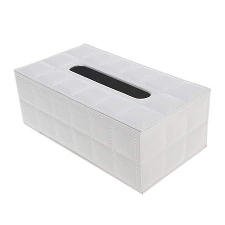 NUOMIZAI Caja de pañuelos-Caja de Almacenamiento Rectangular de 2 Piezas, decoración casera de la Caja de pañuelos del Coche casero de la Cocina, B: Amazon.es: Hogar