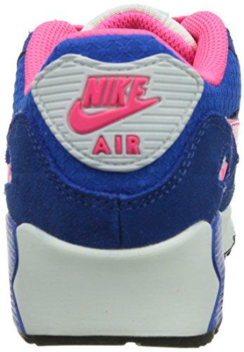 Nike Air Max 90 2007 Ps 345018_Glattleder Unisex-Kinder High-Top Sneaker Blau (Blau)