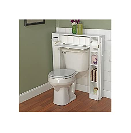 Amazon Com 34 X 38 5 Over The Toilet Cabinet Home Kitchen