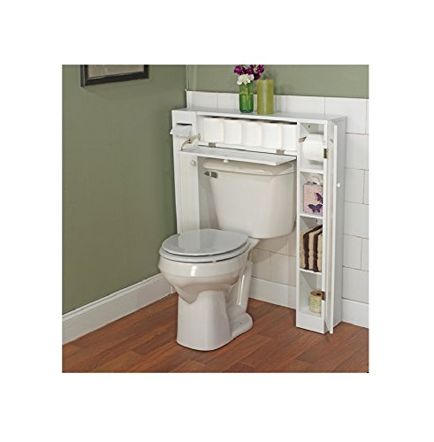 amazoncom 34 x 385 over the toilet cabinet home kitchen