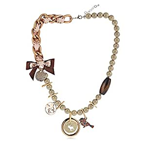 ZMC Women's Multi Material Deisgn Fantasy Necklace