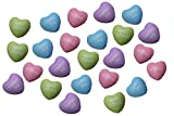 """These tiny foam stress balls are a fun twist on regular Valentine's day exchange cards. Kids can pass out these adorable hearts during their classroom exchange. Foam hearts are 1.75"""" x 1.75"""" x 1.25"""" These are so cute and all you need to do is have yo..."""