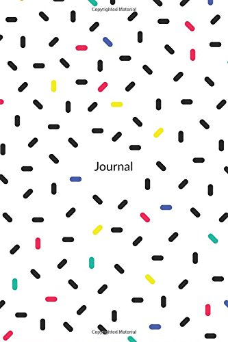 Download Journal: Pretty Minimal Design Journal  120-Page Blank Page Minimal Pattern Notebook  6 X 9 Perfect Bound Paperback (Minimal Journals) PDF