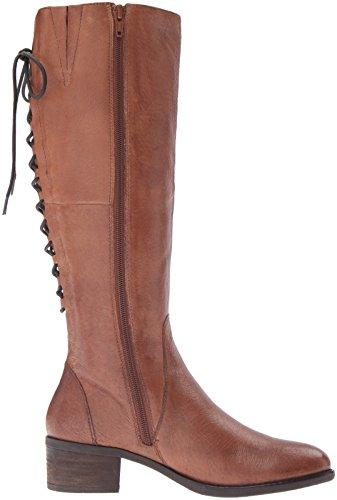 Steve Madden Frauen Laceupp Geschlossener Zeh Leder Fashion Stiefel Cognac Leather