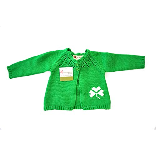 carraig-donn-100-cotton-childrens-cardigan-emerald-green-with-buttons-bow
