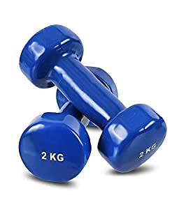 EXERCISE DUMBBELLS -2kgs x 2