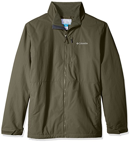Columbia Men's Big and Tall Utilizer Jacket, Peatmoss, (Big Tall Mens Outerwear)