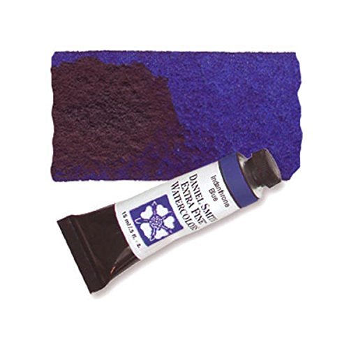 Daniel Smith Extra Fine Watercolor 15ml Paint Tube, Indanthrone Blue ()