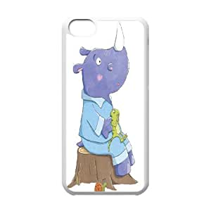 Rhinoceros Art Pattern Hard Snap Cell Phone Case for Iphone Case 5C HSL450761