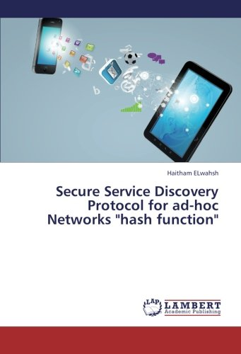 """Secure Service Discovery Protocol for ad-hoc Networks """"hash function"""" pdf"""