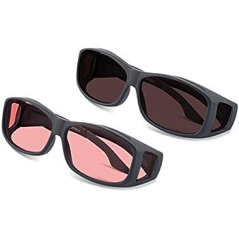 Amazon.com: TheraSpecs WearOver Migraine Glasses for Light