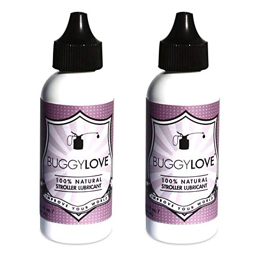 BuggyLOVE Natural Stroller Lubricant 1 oz (2 Pack) ()