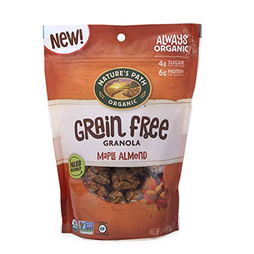 Nature's Path Maple Almond Grain-Free Granola, Healthy, Organic, 8 Ounce Bag (Pack of 6)