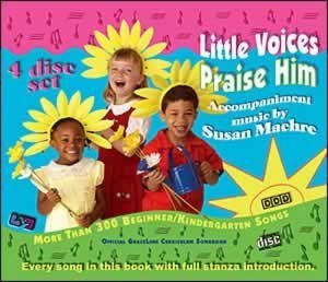 Little Voices Praise Him (All 315 songs, Set of 4 CDs)