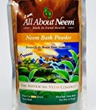 Neem Bark Powder 1 lb, Organic, Pure, Fresh Cut, Shade Dried, Hand Ground - Supports Digestive Health, Healthy Gums, Teeth, Skin. Good for pets.