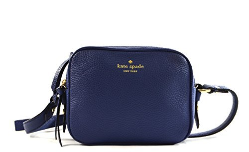 Kate Spade New York Mulberry Street Pyper Pebbled Leather Crossbody Ocean Ice Blue by Kate Spade New York