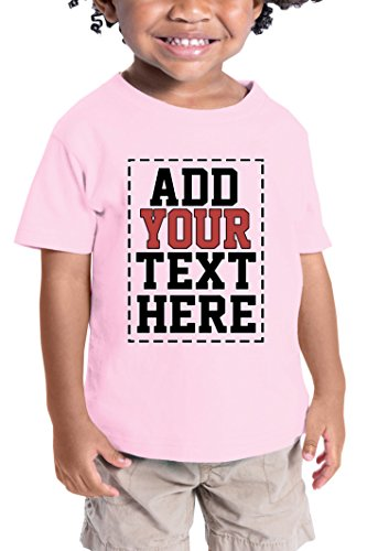 Custom Shirts for Toddlers - Design Your OWN Kids Shirt - Personalized Outfits for Babies Pink
