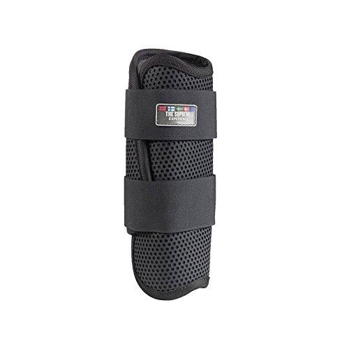 Horze Protège-boulets Flexi Impact, antérieur Noir Large antérieur Noir Large