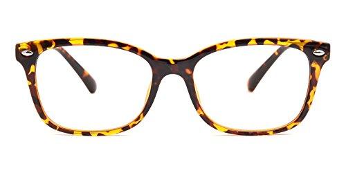 Glassesshop Vintage Tortoise Hyannis Rectangle Eyeglasses - Tortoise Men Frames For