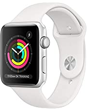 Apple Watch Series 3 (GPS, 42mm) - Silver Aluminum Case with White Sport Band