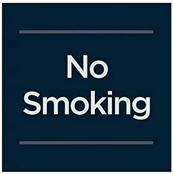 CGSignLab 5-Pack Classic Navy Window Cling Do Not Touch 24x12