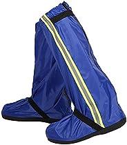 Overshoes Rain Boots, Waterproof Shoe Covers, Reusable Rain Boots, Protective Gear for Women, Men, Boys, Girls