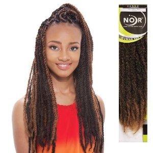 Marley Braiding Hair 4 Packs 1 Jet