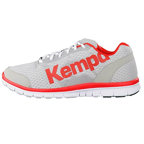 Kempa Handball de Grau Gris Red Chaussures K Mixte Wei Fire Float Adulte UqZUwr