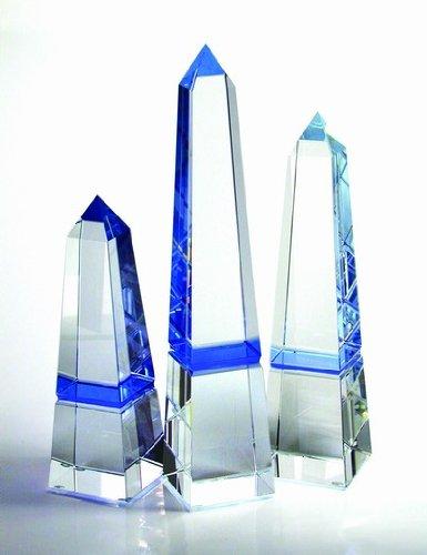 - Blue Obelisk Crystal Award - Small
