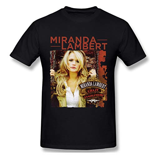 T-shirt Men Miranda Lambert Crazy Ex-GirlfriendMen