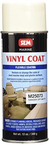 SEM M25073 Ranger Off-White Marine Vinyl Coat - 12 - Vinyl Restoration