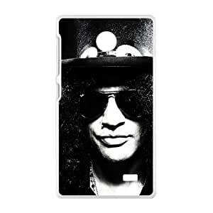 slash black and white Phone Case for Nokia Lumia X