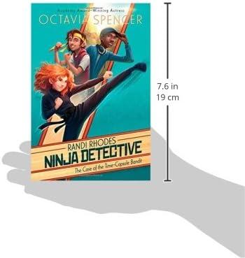 The Case of the Time-Capsule Bandit (1) (Randi Rhodes, Ninja ...