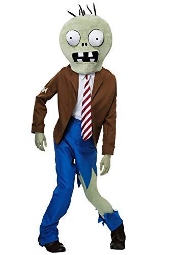 Zombies Vs Plants Halloween Costumes (Adult Plants VS Zombies Zombie Costume Standard)