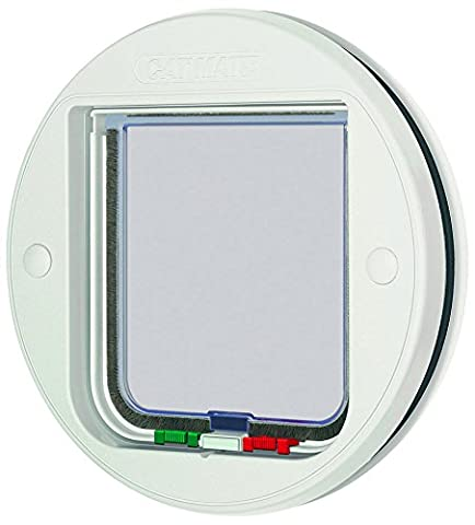 Cat Mate Inc 210 Glass&Screen Door - Cat Flap Per Porte