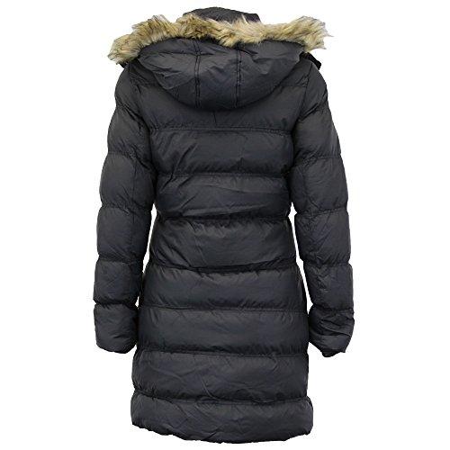 Brave Kapuze Winter Parka Soul Jacke Damen Gesteppt Mantel Kunstpelz OwkZuXiTP