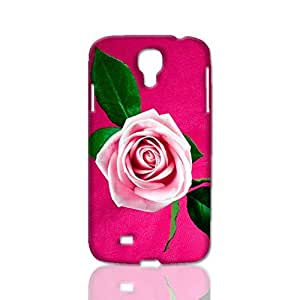 Beautiful Cool Pink Rose Love 3D Rough Case Skin, fashion design image custom, durable hard 3D case cover, Case New Design for Samsung Galaxy S4 I9500 , By Codystore