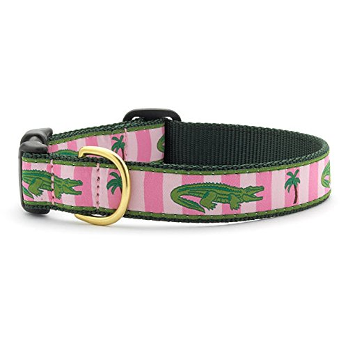 Up Country Alligator Dog Collar - Medium (Narrow) - Alligator Collar