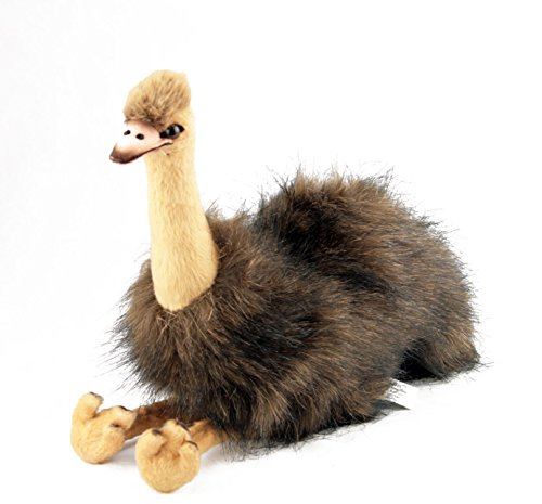 Bocchetta Plush Toys Penny Australian Emu Plush Toy, Stuffed Animal, Size -