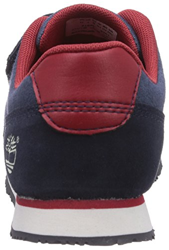 Timberland Penhallow Ftk, Zapatillas de Cuero, Niño Azul (Navy with Denim)