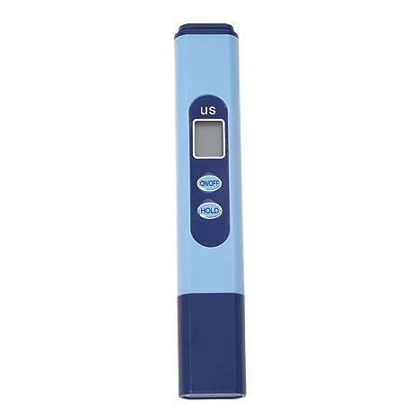 SODIAL (R) Digital LCD EC leitw ertmess Tensiómetro para ueberpruefung la Agua de Gran