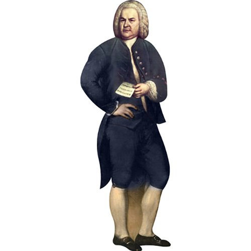 Johann Sebastian Bach Wall Decal