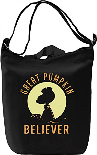 Great Pumpkin Believer Borsa Giornaliera Canvas Canvas Day Bag| 100% Premium Cotton Canvas| DTG Printing|