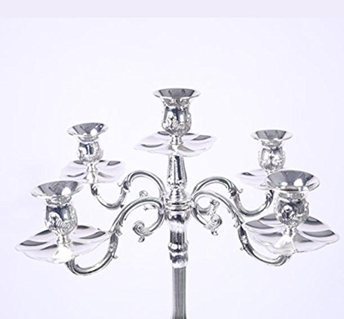 5 Candle Holders Wedding Candelabra Vintage Candlesticks Silver Plated Candle Holders Wholesale Candle Holders For Candles