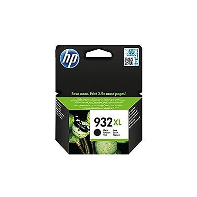 HP 932XL - Cartucho de tinta Original HP 932XL de álta capacidad Negro para HP OfficeJet 7110, 6100, 7612, 6600, 6700 Premium