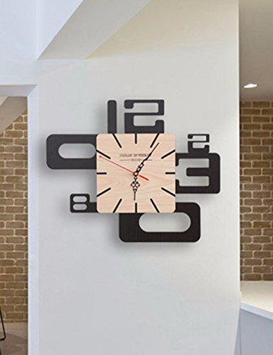 SUNQIAN-Creative, modern, simple, alien, bedroom, mute, personality, fashion clock, tuba by SUNQIAN