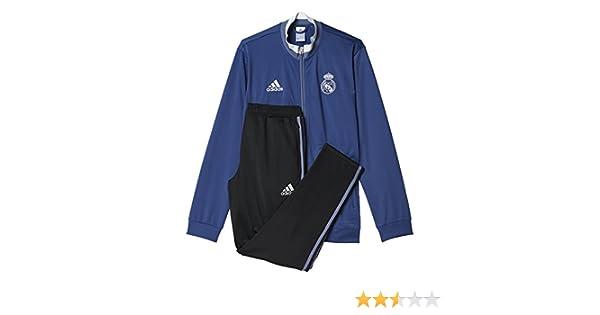 adidas PES Suit Chándal Real Madrid FC, Hombre, Rosa (Mornat ...