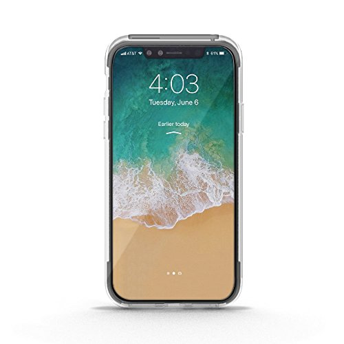 Official PROPORTA® Luxury Carbon Flex Anti-Shock Case / Cover for IPhone X