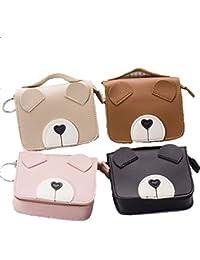 Women Girls Mini Handbag Style Key Chain Coin Purse Pouch-4 Pack
